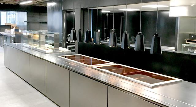 The clients brief was for a multi-functional food service offering which could cater for a variety of meal offers, buffets etc