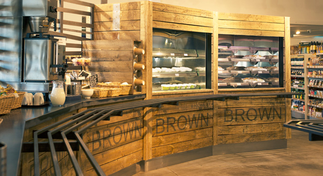ScoMac developed a comprehensive design that included the servery area and the flow through the farm shop