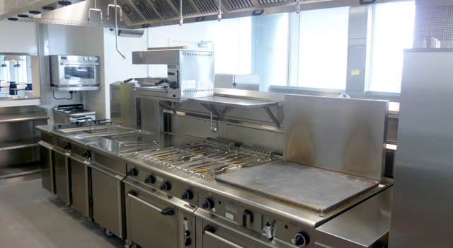 Cooking equipment was from Ambach, Baron and Rational, along with refrigeration from Foster